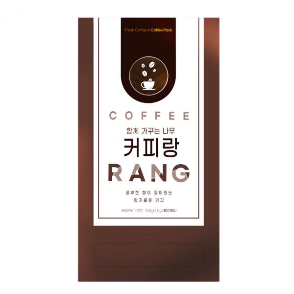 원두티백 커피 100개