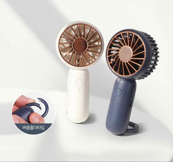 [홍보물/기념품]거치형+버클홀더형 에어포켓 미니선풍기 ALIO